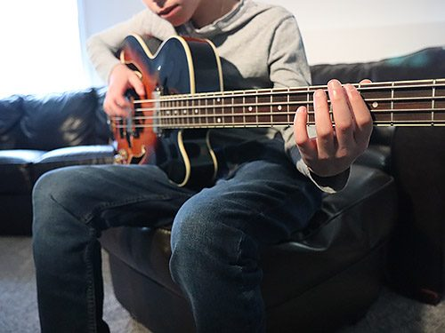 Bass Lessons NYC in Home and Online