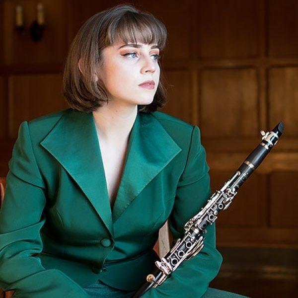 Olivia G. Clarinet, Piano